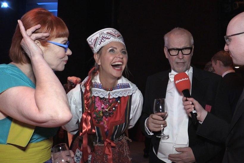 ÕL VIDEO | Sünnipäeva tähistanud Signe Kivi manitses kaasat peol korralikult käituma