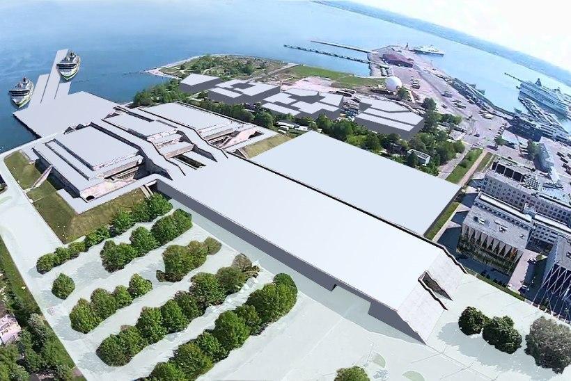 Tallink saab linnahalli taha oma sadama ja plaanib kontserdisaali taastada