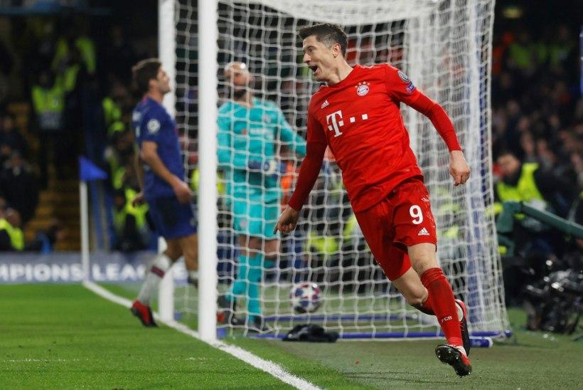 Eile Chelsea hävitanud Müncheni Bayernit tabas ränk tagasilöök