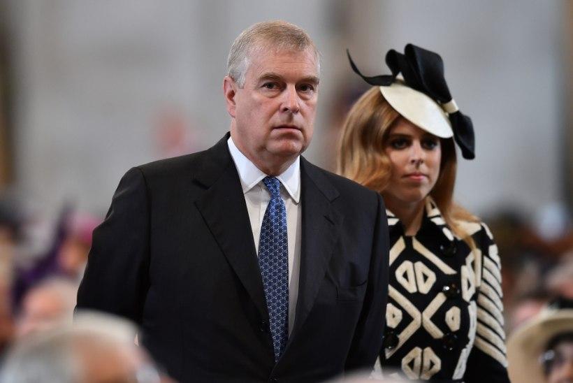 Pereliikmed ei ilmunud prints Andrew' 60 aasta juubelile