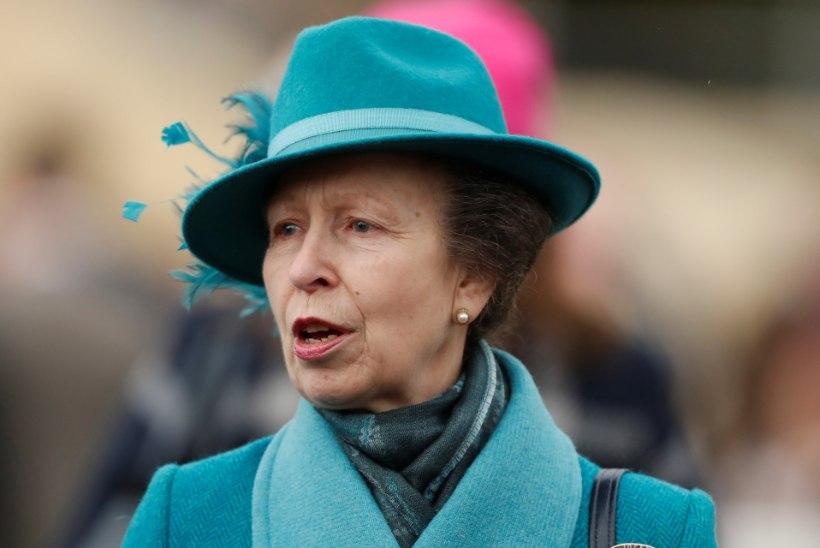 Printsess Anne'i koeradresseerija tappis oma naise