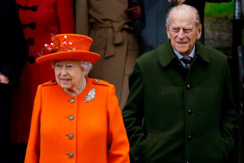 Elizabeth II ja prints Philip ei ela enam koos