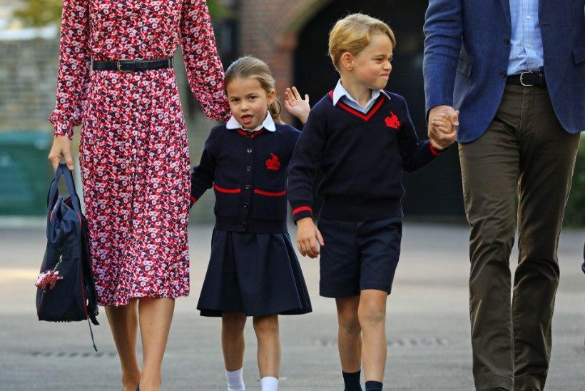 Prints George'i ja printsess Charlotte'i koolis puhkes koroonapaanika