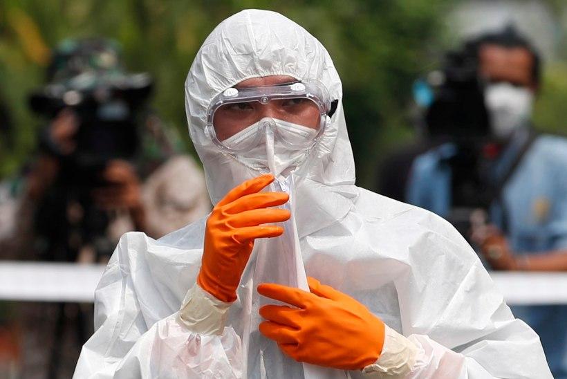 2814 SURNUT: uus koroonaviirus on levinud kokku 50 riigis ja territooriumil. Itaalias juba 655 haigusjuhtu