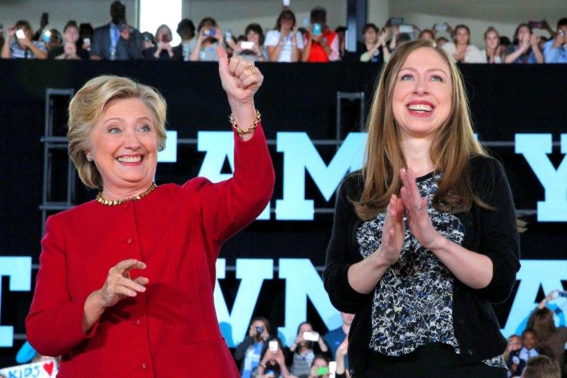 Chelsea Clinton sai 40. sünnipäeva puhul emalt armsa õnnitluse