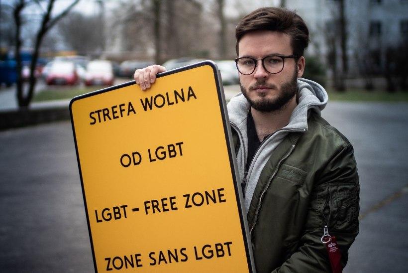 Kolmandik Poola omavalitsustest kuulutas end homovabaks