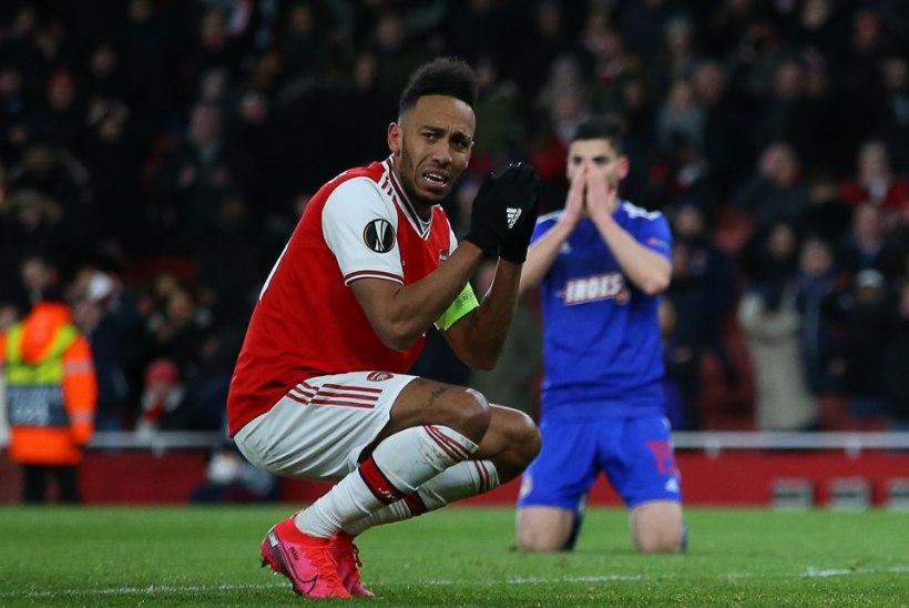VIDEOD | Vastase absurdne käsi aitas Manchester Unitedi Euroopa liiga 16 parema sekka, Arsenal kaotas dramaatiliselt lisaajal