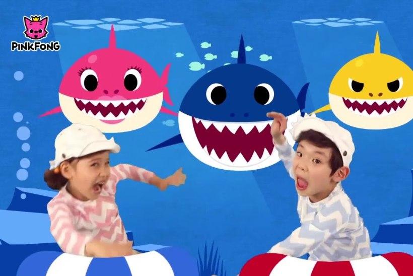 """KOGU MAAILMA LASTE HÜMN: kuidas sündis lapsevanemaid hulluks ajav """"Baby Shark"""" ning kes selle pealt miljoneid teenib?"""