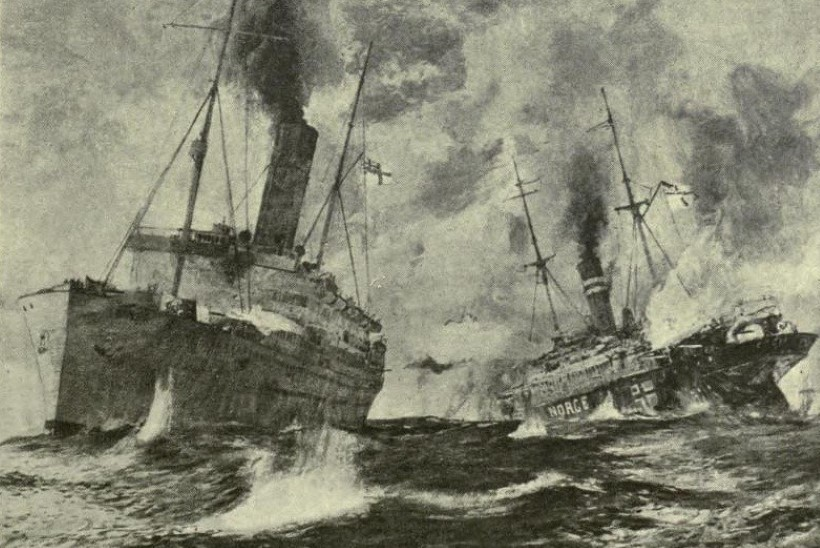 MINEVIKUHETK | 29. veebruar: Põhjamerel peetud merelahingus uppus kaks laeva