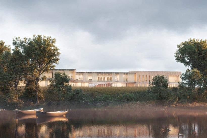 Selgus Sillamäe Vanalinna Kooli arhitektuurivõistluse võitja