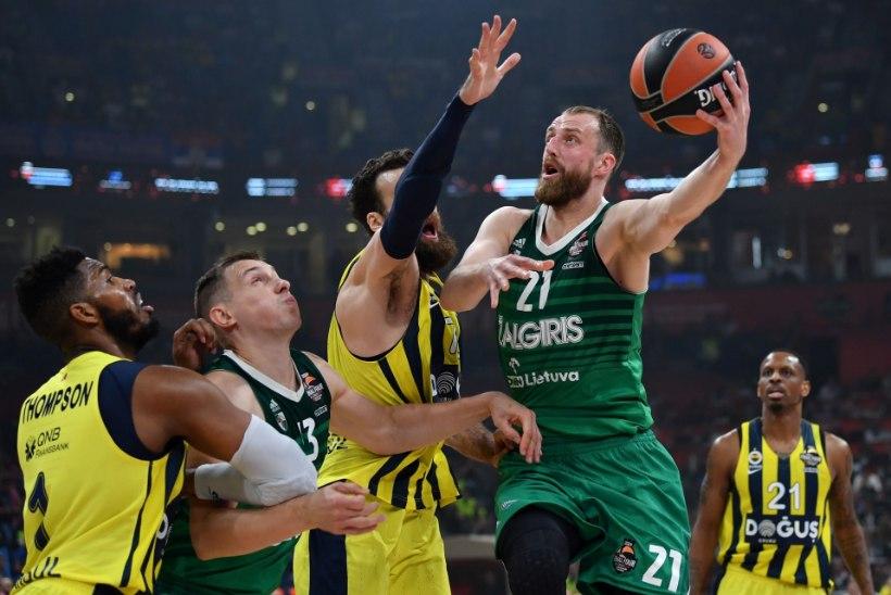 SELJAVÕIT! Žalgris alistas Kreeka suurklubi 25 punktiga