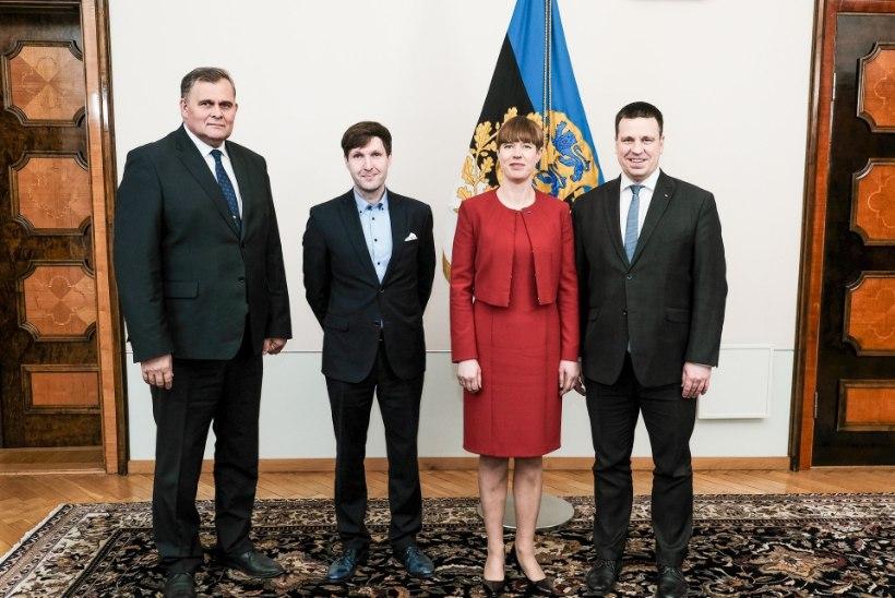 Kas president sai soovitud vastused? Kaljulaid arutles Ratase, Helme ja Aegiga pensionireformi üle