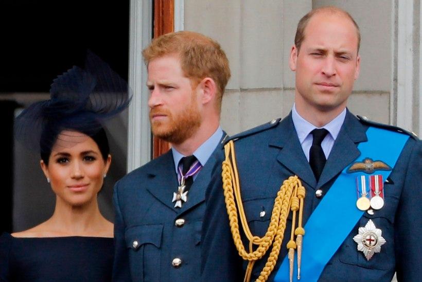 Peretuttav: printsid Harry ja William ei lahkunud sõpradena