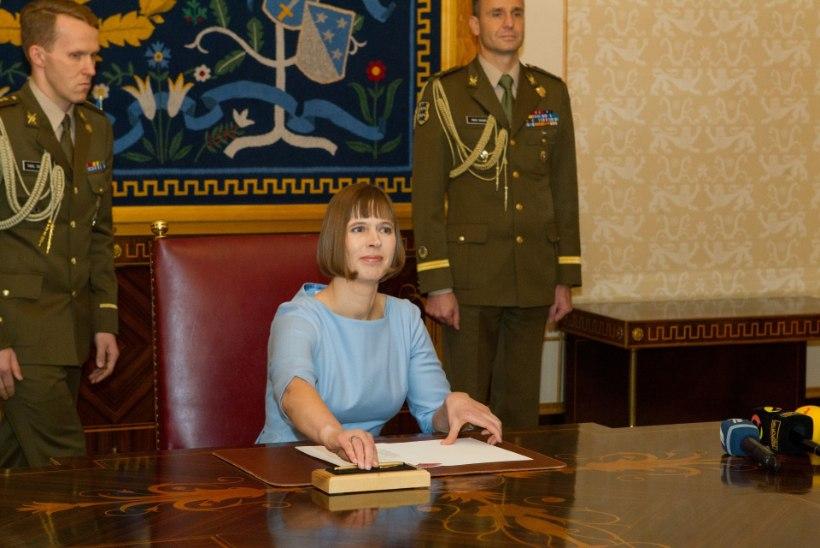 Kaljulaidi sidemed Isamaaga võivad presidendile teise ametiaja tuua