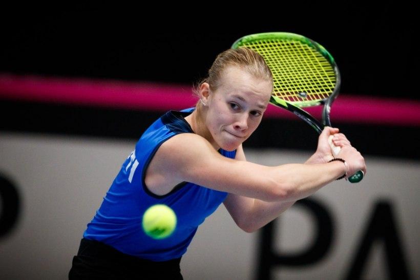 Peterburis sirgunud tennisist esindab uhkusega Eestimaad