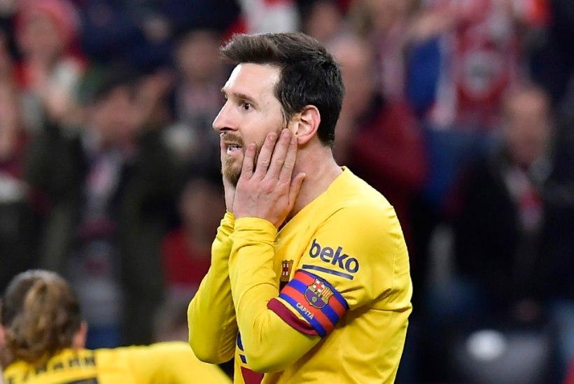 Kummaline jalgpalliõhtu Hispaanias: nii Madridi Real kui ka FC Barcelona pudenesid koduses karikasarjas konkurentsist
