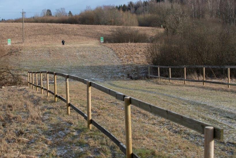 GALERII   Tosin päeva enne talvist laulupidu Tartu maratoni rajal: vaated on hunnitud, ent suusalund pole poolt meetritki