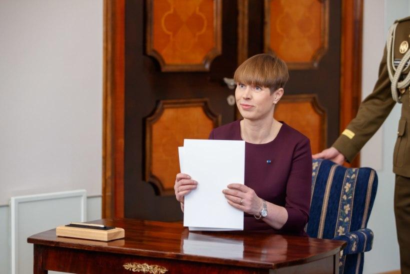 President saatis pensionireformi tagasi riigikokku