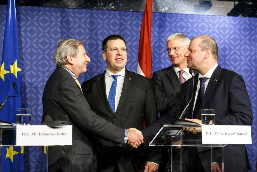 GALERII | LOOTUS PÜSIB: Balti peaministrid soovivad Rail Balticu valmis saada kuue aastaga