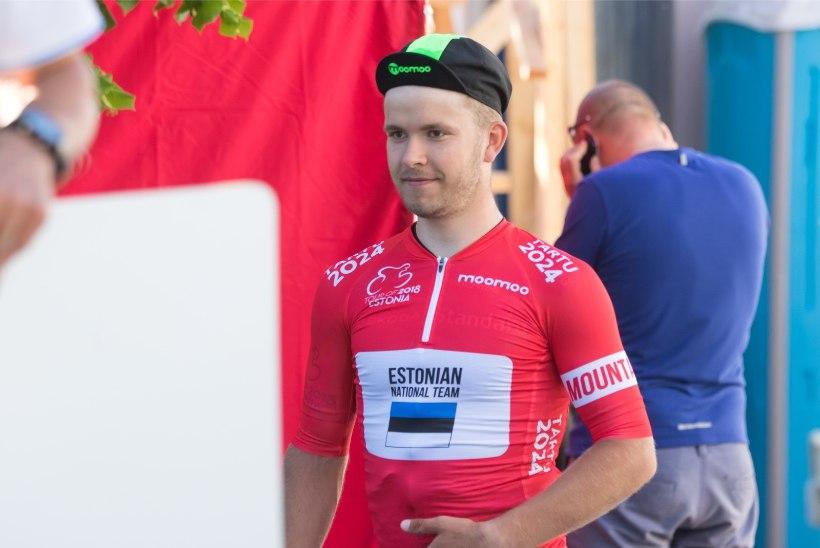 TUBLI! Eesti jalgrattur näitas teist nädalat järjest Prantsusmaal rivaalidele kandu