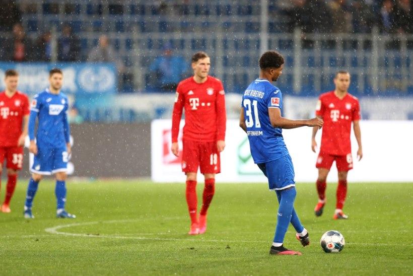 VIDEO | Veeretame niisama muna: Bayern ja Hoffenheim loobusid veerand tundi enne lõppu mängimisest