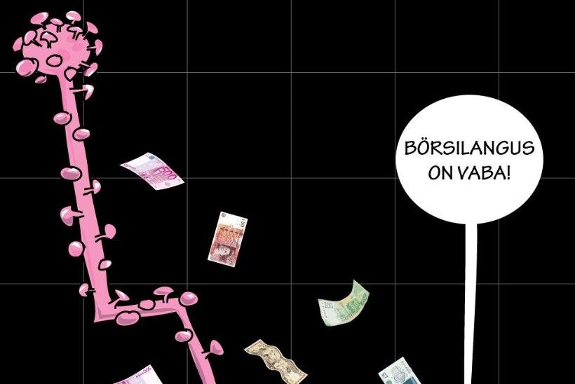 Juhtkiri   Viirus näksib majandust ja pensionifonde