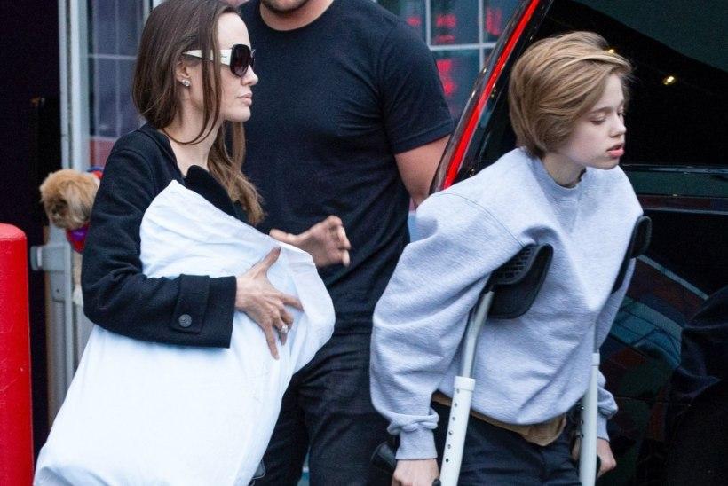 Angelina tunnistas, et kahele tema lapsele on tänavu lõikus tehtud