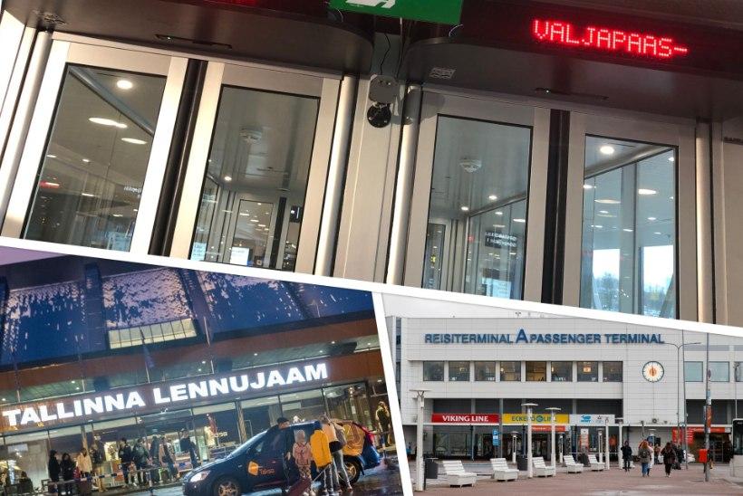 56 000 mõõdetut: termokaamerad on sadamas ja lennujaamas andnud alarmi, kuid koroonaproovi pole võetud kelleltki