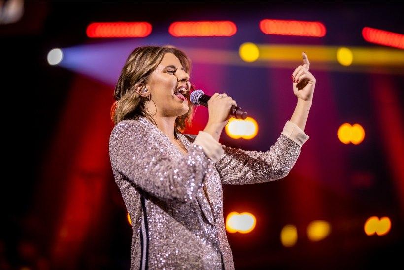 """""""Eesti laulul"""" esikolmikusse jõudnud Anett annab pärast võistlust esimese kontserdi"""