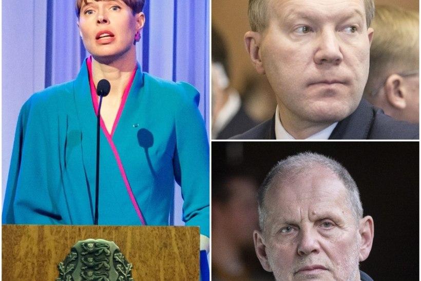 President Kaljulaid läheb Mihkelsoni ja Ernitsaga välislähetustesse?