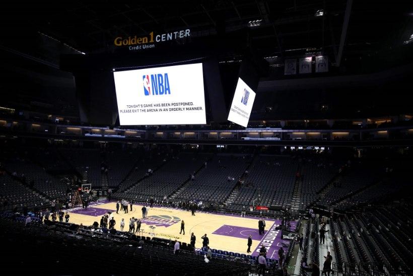 NBA peatab teadmata ajaks hooaja, ühel mängijal tuvastati koroonaviirus
