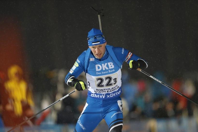 Johannes Thingnes Bö sai järjekordse võidu, Ermits ja Zahkna pääsesid jälitussõitu