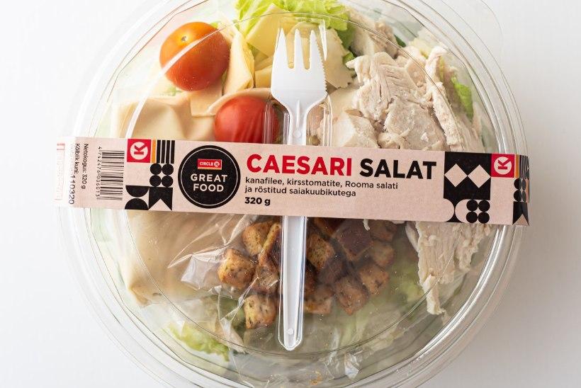 NAISTELEHT TESTIB | Klassikat narrida ei tohiks – milline on parim valmis Caesari salat?