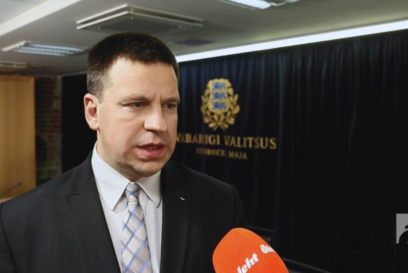 ÕL VIDEO | Jüri Ratas eriolukorrast: valitsuse järgmine prioriteet on tegevus piiridel