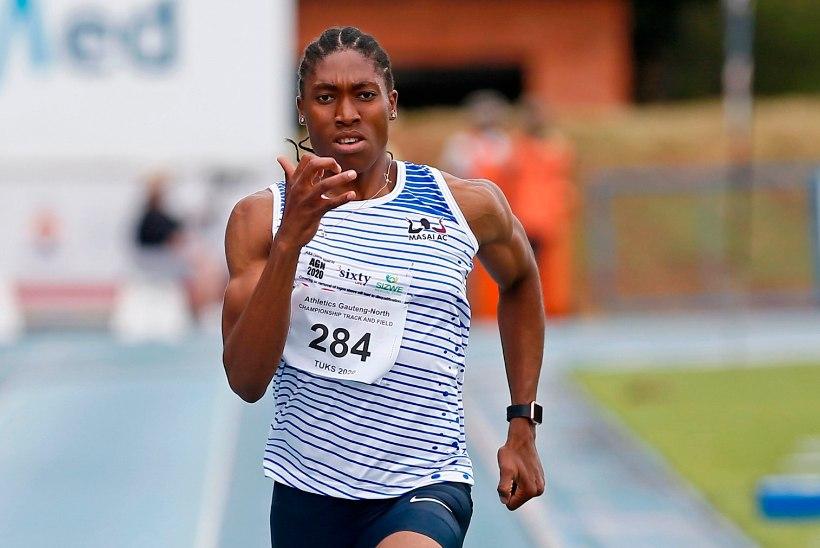 VIDEO   Vastuoluline Semenya viis isikliku rekordi uude sekundisse