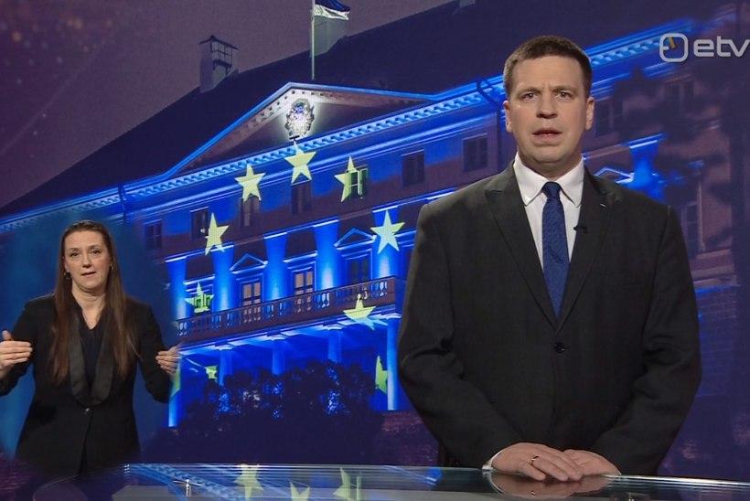 VIDEO | Jüri Ratas rahustas Eesti rahvast: eriolukord ei tähenda elu seiskumist