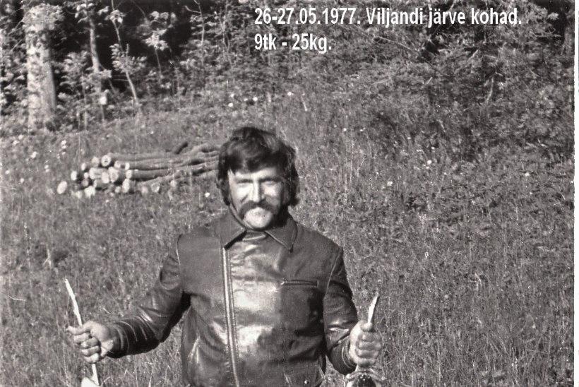 Veterankalamees Katenevi päevikud: 1977. aastal Viljandi järve vägevad kohad ja kuuekilone haug