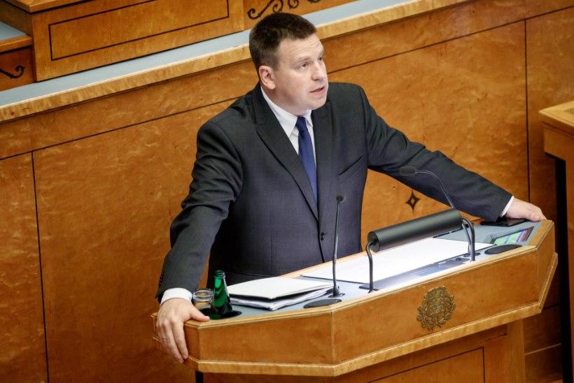 Riigisekretär rahvusringhäälingule: miks televisioon ei kandnud üle peaministri poliitilist avaldust?