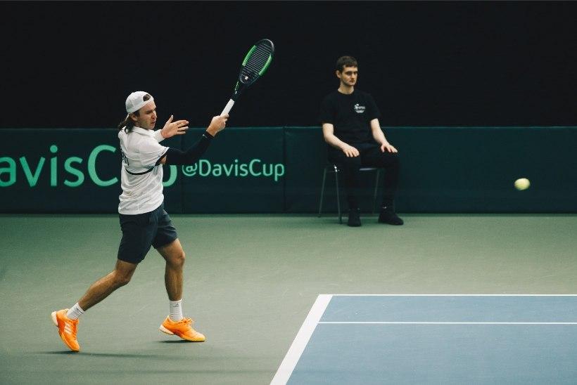 Eesti tennisemeekond kohtub Davis Cupil Šveitsiga