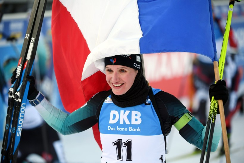 Jälitussõidu võitis esmakordselt MK-sarjas triumfeerinud prantslanna, kristallgloobuse sai Wierer
