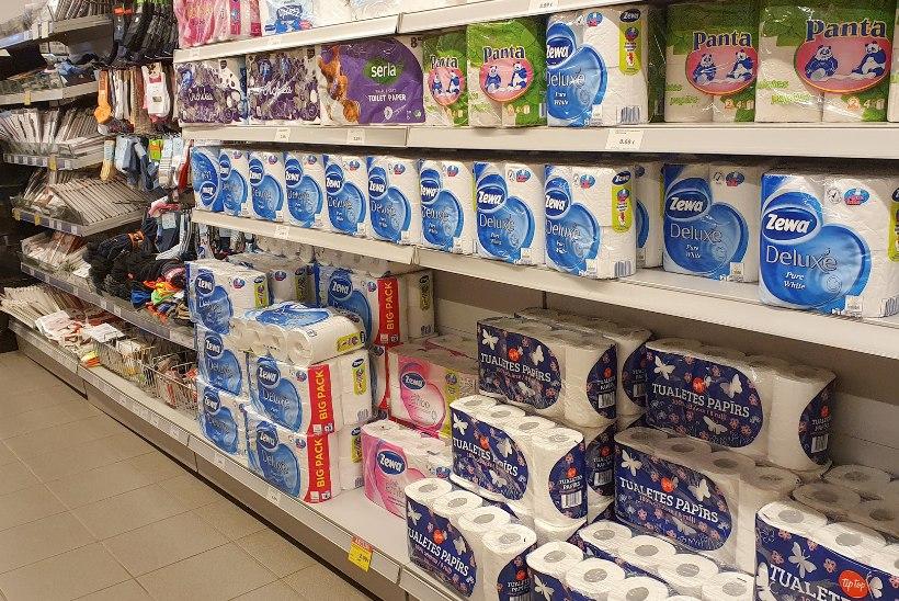 KOROONAPAANIKA JÕUDIS LÄTTI: müügil viimased maalrimaskid, ostetakse kokku soola, kruupe ja tualettpaberit!