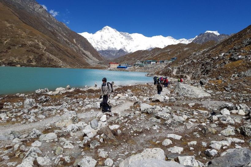 Eestlased Nepalis 2019: Everesti baaslaagri marsruut, Gokyo järved ja tõus Lobuche Easti tippu