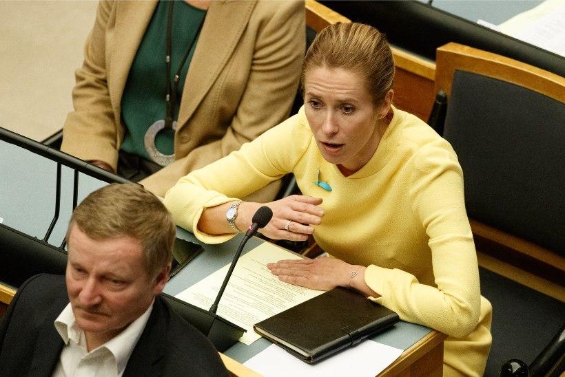 Kaja Kallas: hoiame oma riskirühmades kolleege, aga parlament töötab edasi