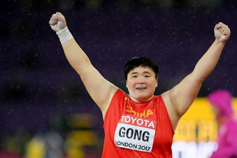 OHOO: kahekordne maailmameister tõukas Hiinas kuuli väga kaugele