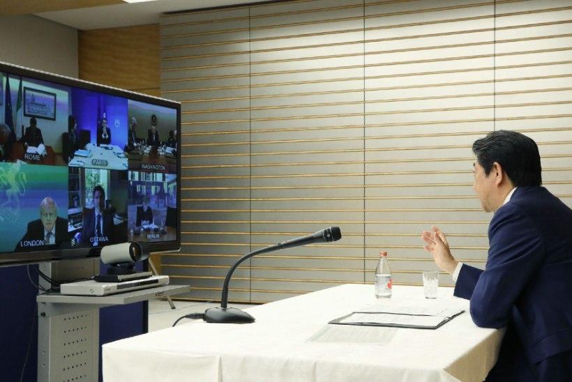 Jaapani peaministri sõnul toimub olümpia planeeritult: tõestame, et inimkond suudab koroonaviiruse alistada
