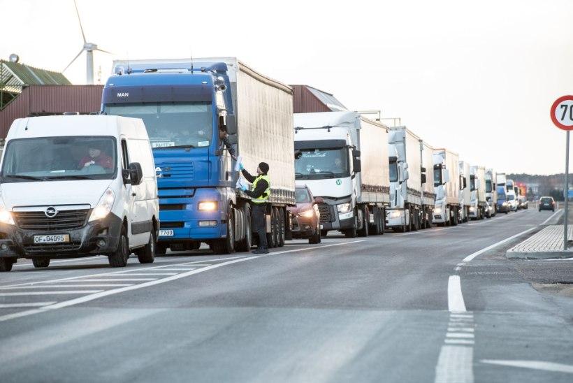PIIRIÜLETUSE KITSASKOHT LAHENDATUD: kaubaveokid pääsevad riiki kiirelt, ootaeg mõned minutid