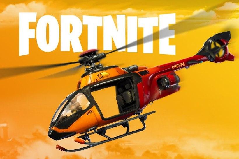 """PILVEDE ALL! """"Fortnite'i"""" uus sõiduvahend viib mängijad taevasse"""