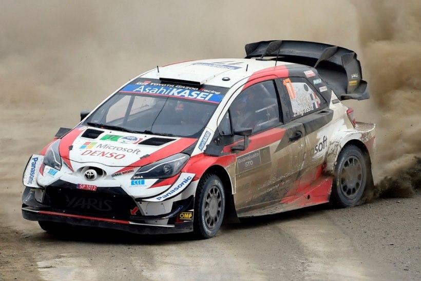VIDEO | Tänaku konkurendid ei maga! Toyota testis uut WRC masinat