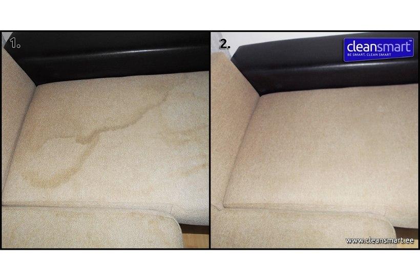 Pehme mööbli ja vaipade süvapuhastus + desinfitseerimine nüüd 30% soodsam!