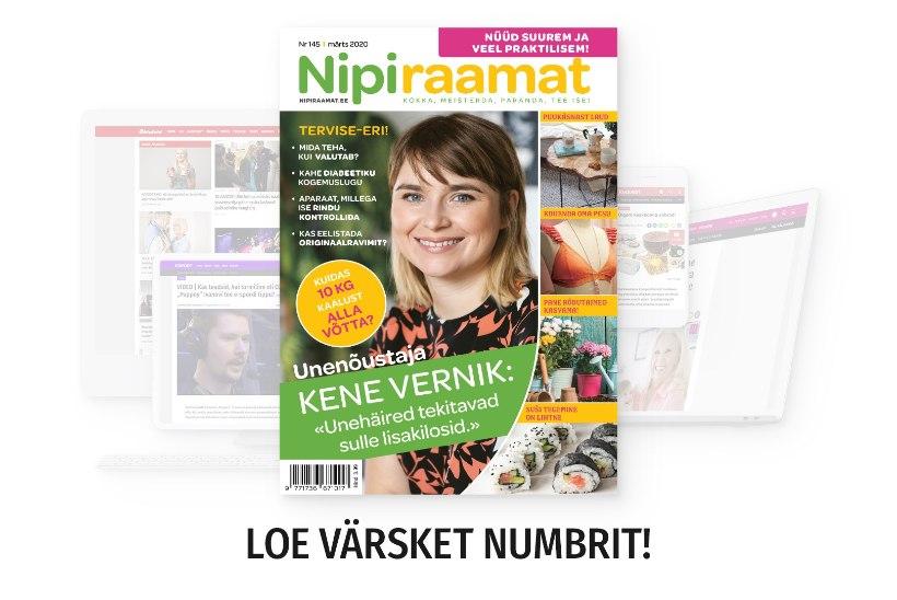 MÄRTSIKUU NIPIRAAMAT | Loe nüüd ajakirja ka veebis!
